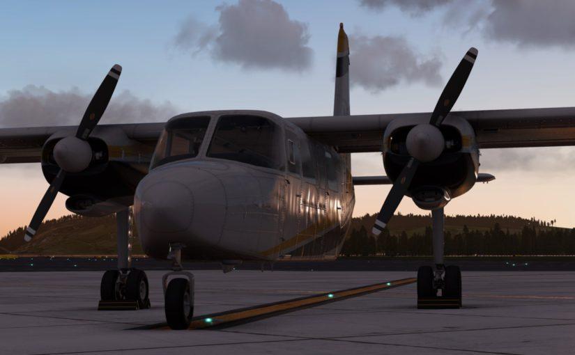 BN-2 Islander Update 1.1.1