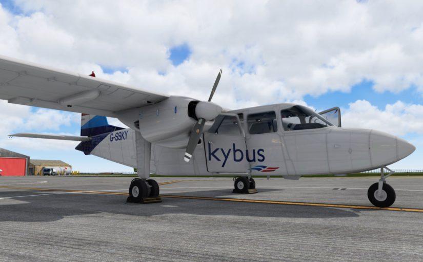 BN-2 Islander Update 1.1.0