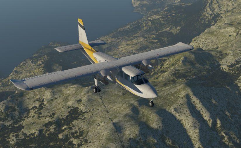 BN-2 Islander Update 1.1.2