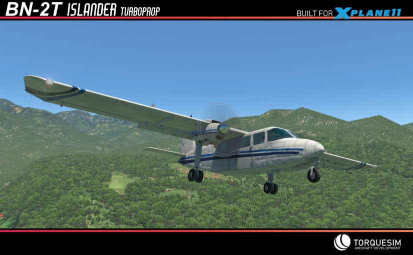 Coming soon: BN-2T Turbine Islander