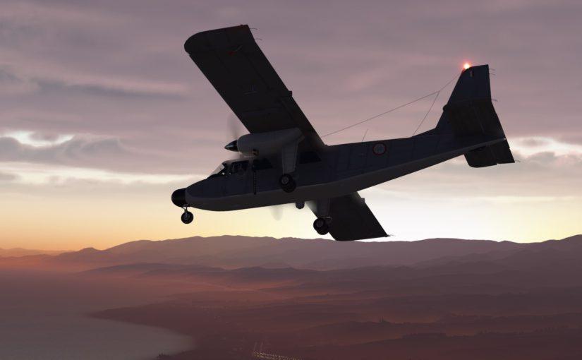 TorqueSim BN-2T Turbine Islander: Available Now!